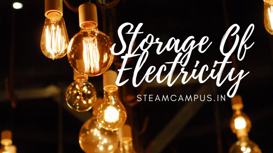 Storage Of Electricity.